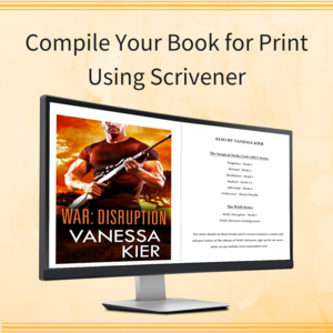 Compile Your Book for Print Using Scrivener